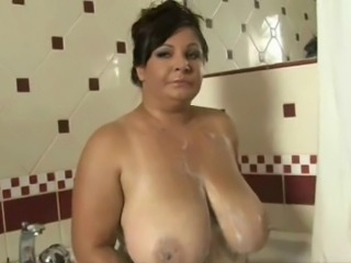 Bathroom Big Tits Mature Natural