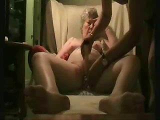 Amateur Dildo Homemade Older Toy Wife