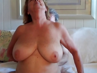 Amateur  Big Tits Homemade Natural Older  Wife
