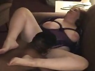 Amateur  Cuckold Homemade Interracial Licking Wife