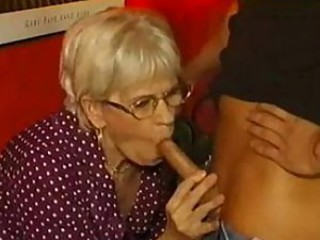 Blowjob European German Glasses Old And Young