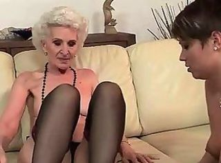 Lesbian Old And Young Skinny Stockings