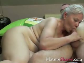 Blowjob Chubby Mom Old And Young