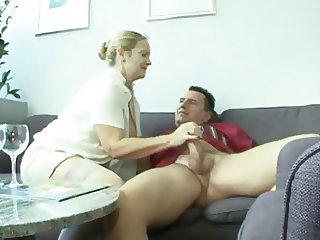 Chubby European German Handjob