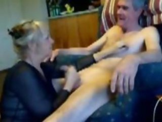 Handjob Older Webcam Wife