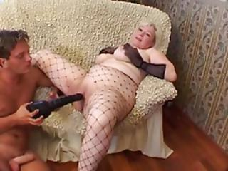 Big Tits Fishnet Mom Old And Young Shaved Toy