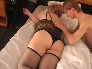 Chubby Mature Mom Old And Young Panty Stockings