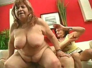 Big Tits Natural Riding  Threesome