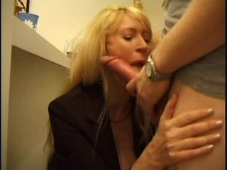Big Cock Blonde Blowjob Mature