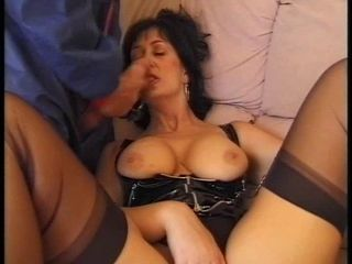 Blowjob Latex Mature Stockings