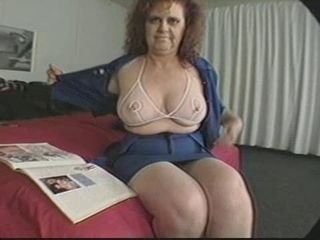 Big Tits Mature Natural Stripper