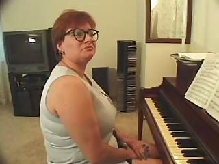 Chubby Glasses Mature Redhead Teacher