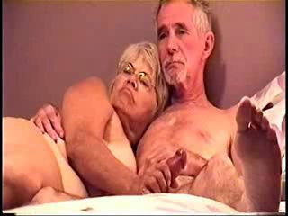 Amateur Glasses Handjob Homemade Older Wife