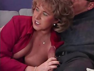 European German Handjob Mature