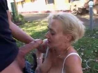 Big Cock Blowjob Outdoor Public