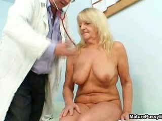 Blonde Doctor Natural Older