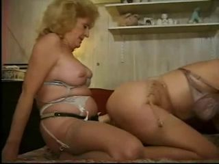 Chubby Lesbian Lingerie Pornstar Stockings Strapon