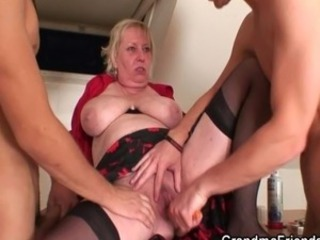 Big Tits Mom Natural Old And Young  Threesome Toy