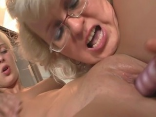 Dildo Glasses Lesbian Old And Young Toy