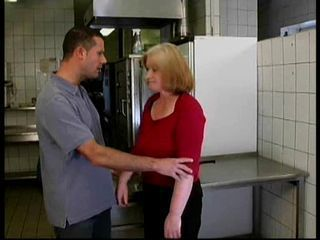 Kitchen Mom Old And Young
