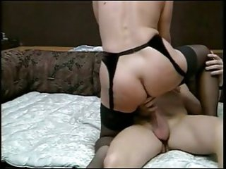 Amateur Ass European German Mom Old And Young Riding Stockings