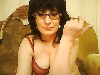 Glasses Mature Webcam