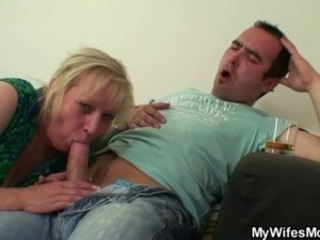 Blowjob Clothed Drunk Mom Old And Young