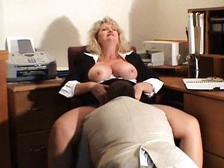 Big Tits Clothed Licking Mature Natural Office Secretary
