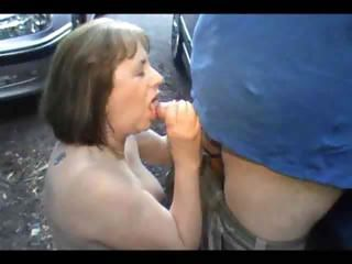 Blowjob Car Outdoor