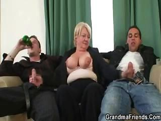 Big Cock Big Tits Clothed Drunk Family Handjob Mom Natural Old And Young Threesome