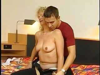 Blonde European German Mom Old And Young