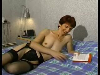 European French Lingerie Mature Mom Stockings
