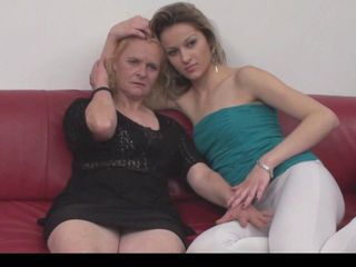 Amateur European Lesbian Old And Young