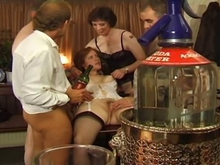 British European Groupsex Mature Orgy