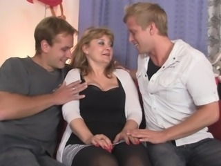 European Mature Threesome