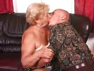 Kissing Older Wife