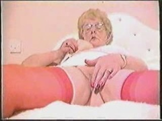 Glasses Masturbating Stockings Vintage