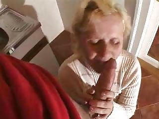 Big Cock Blonde Blowjob Clothed