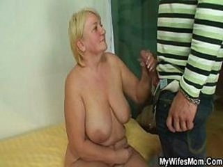 Big Tits Blonde Handjob Mom Natural Old And Young