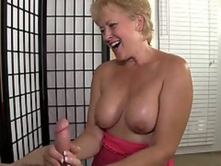 Big Cock Handjob Mature