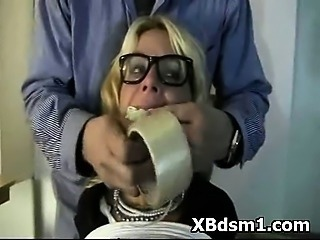 Bondage European Glasses Hardcore Mature