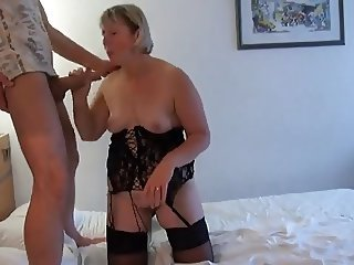 Amateur Big Cock European French Handjob Homemade Lingerie Mature Mom