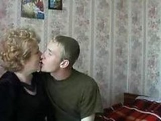 Amateur Homemade Kissing Mom Old And Young Russian