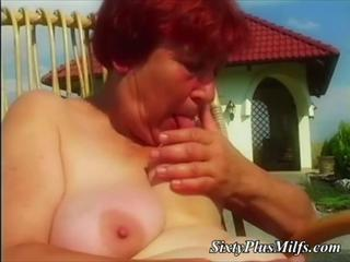 Farm Licking Nipples Outdoor