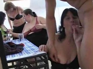 Amateur Blowjob Groupsex Old And Young Orgy Party