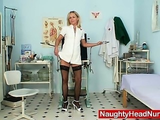 Nurse Solo Stockings Stripper Uniform
