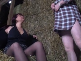 European Farm German Mature Stockings