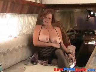 Big Tits Chubby Mature Piercing Toy