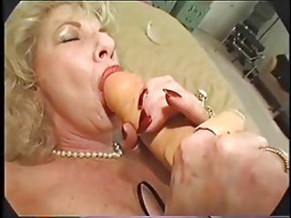 Blonde Dildo Toy