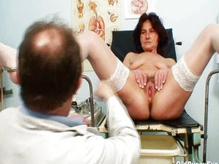 Doctor Hairy Older Pussy Stockings